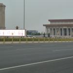 Les rues gigantesques de Pékin
