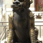 Les belles sculptures en cuivre de la cité interdite