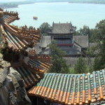Les toits des palais d'été