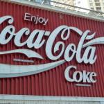 La fameuse enseigne coca cola dans le quartier des back packers