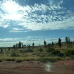 Alice Springs semble perdu au milieu de rien