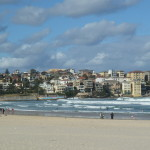 La plage de Bondi, célèbre en Australie pour le surf