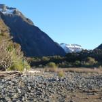 Devant les Milford Sound