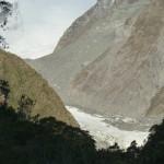 Panorama sur le glacier Franz Joseph