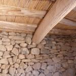 Les fameux toits en cactus des anciennes maisons