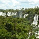 Panorama sur les cascades