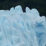 Détail des glaces du Périto