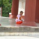 Une nonne en prière