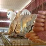 Bouddha couché de 50m