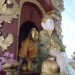 Un double bouddha au temple de Mingun