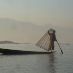 Pêcheurs traditionnels au lac Inlay