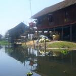 Maison traditionnelle au lac Inlay