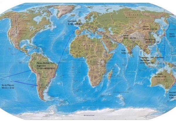 Itinéraire et billets : A vos cours d'histoire  géo