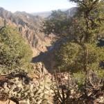 Panorama sur le canyon de canyon city