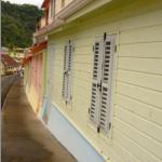 Les petites rues colorées de Grande Rivière