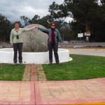 Des deux côtés de la ligne de l'Equateur