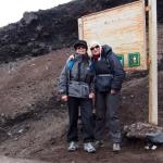 Au refuge du Cotopaxi à 4860m