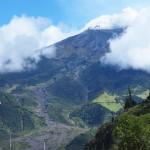 Le volcan Turunhagua au porte de Banos
