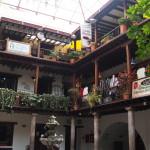 Un très joli patio dans le vieux Quito