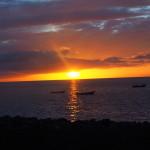 Coucher de soleil sur le Cap Vert