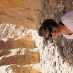 Le canyon de Wadi Guweir s'étend sous mes pieds