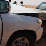 Un accident en plein désert