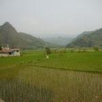 Paysage sur la vallée
