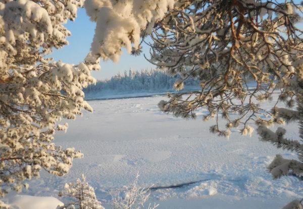 Première marche sur les lacs glacés