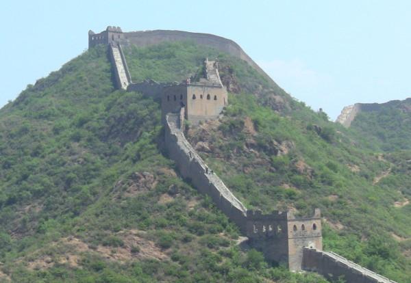 Enfin la grande muraille de Chine