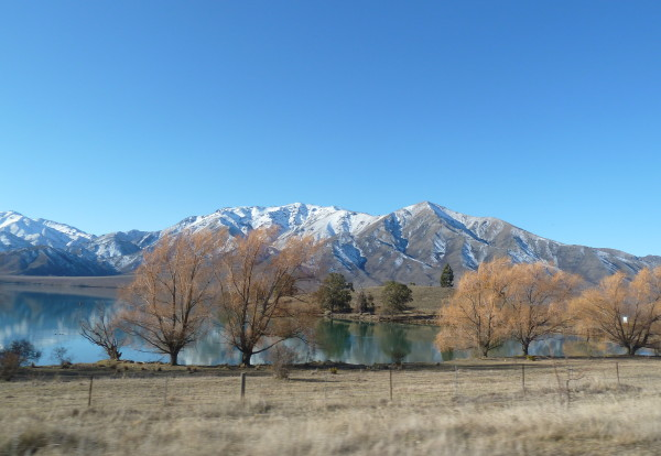 Arrivée à Christchurch