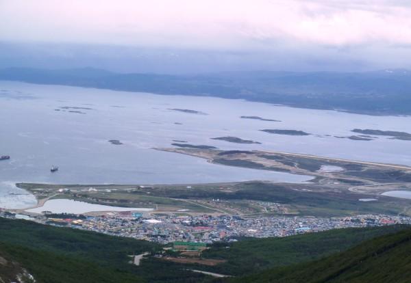 Une vue imprenable sur Ushuaia