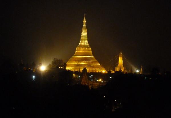De retour à Yangoon