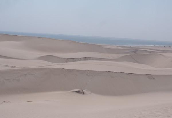 Du désert à la mer