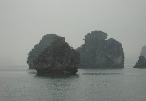 La majestueuse baie d'Halong