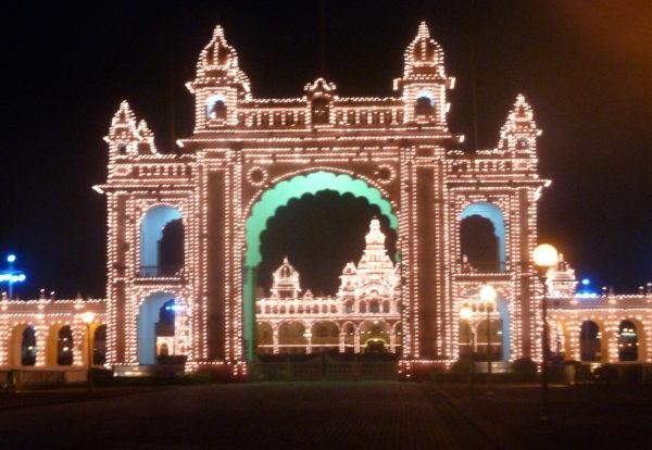 Mysore, palace de misère