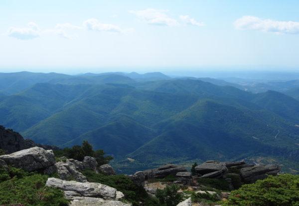 De Douch au sommet du mont Caroux